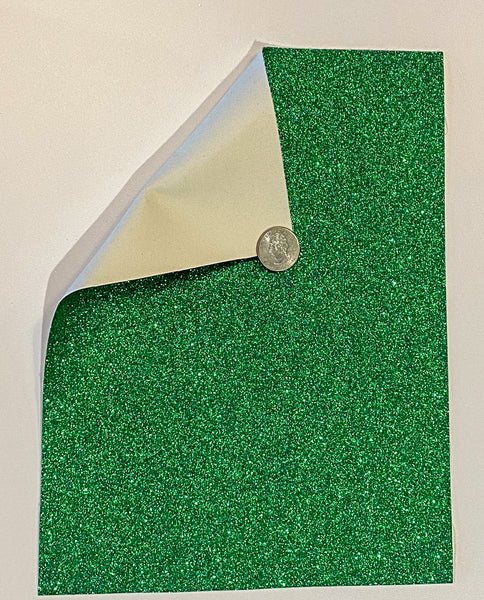 Glitter Sheet Fine Green - Create With 614