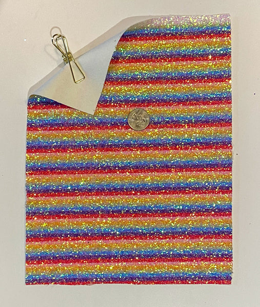Glitter Sheet Chunky Rainbow - Create With 614