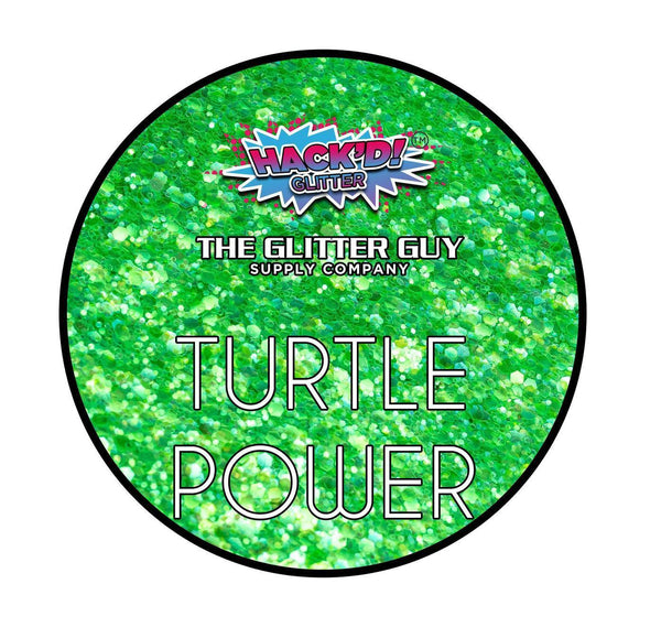 The Glitter Guy - Turtle Power