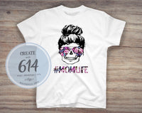 Mom Life Sublimation Print