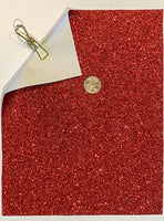 Glitter Sheet Fine Red - Create With 614