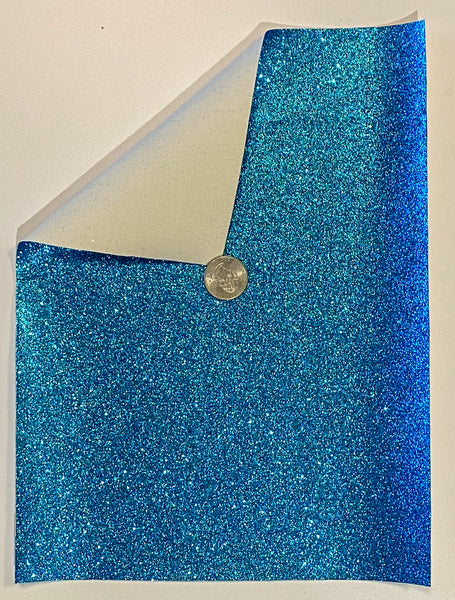 Glitter Sheet Fine Blue - Create With 614