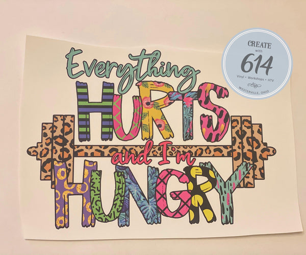 Everything Hurts Ready to Press