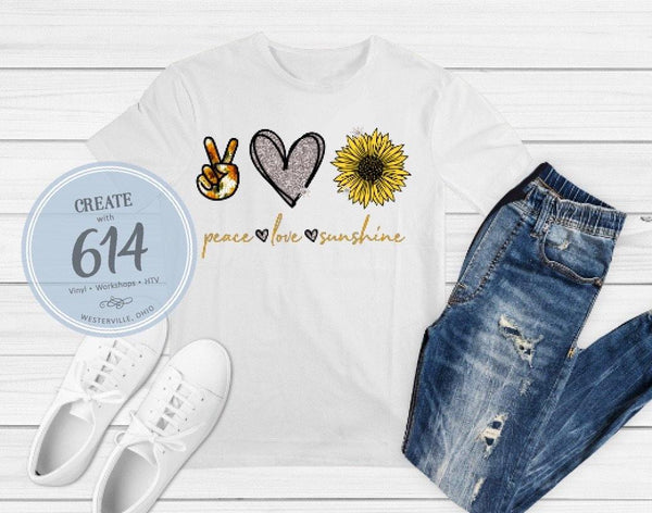Peace Love Sunshine Print