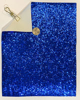 Glitter Sheet Chunky Blue - Create With 614
