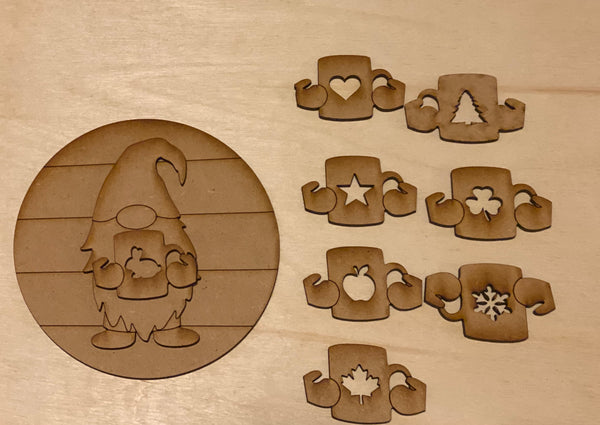 Interchangeable coffee gnome - Create With 614