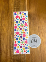 Pen Wrap - Colorful Bubbles - Create With 614