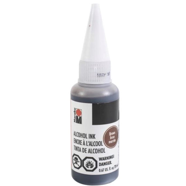 Marabu Alcohol Ink Brown 20ml