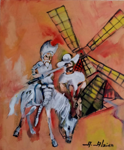 Don Quijote - 20x24