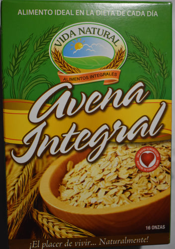 Vida Sana - Avena Integral - Artesanal.do
