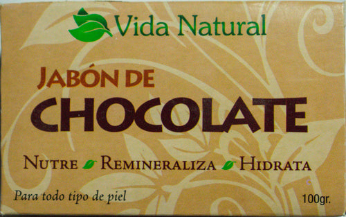 Vida Natural - Jabon Artesanal de Chocolate- Artesanal.do