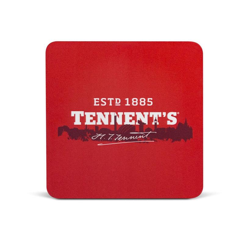 Scottish Tennent's Heritage Square Coaster
