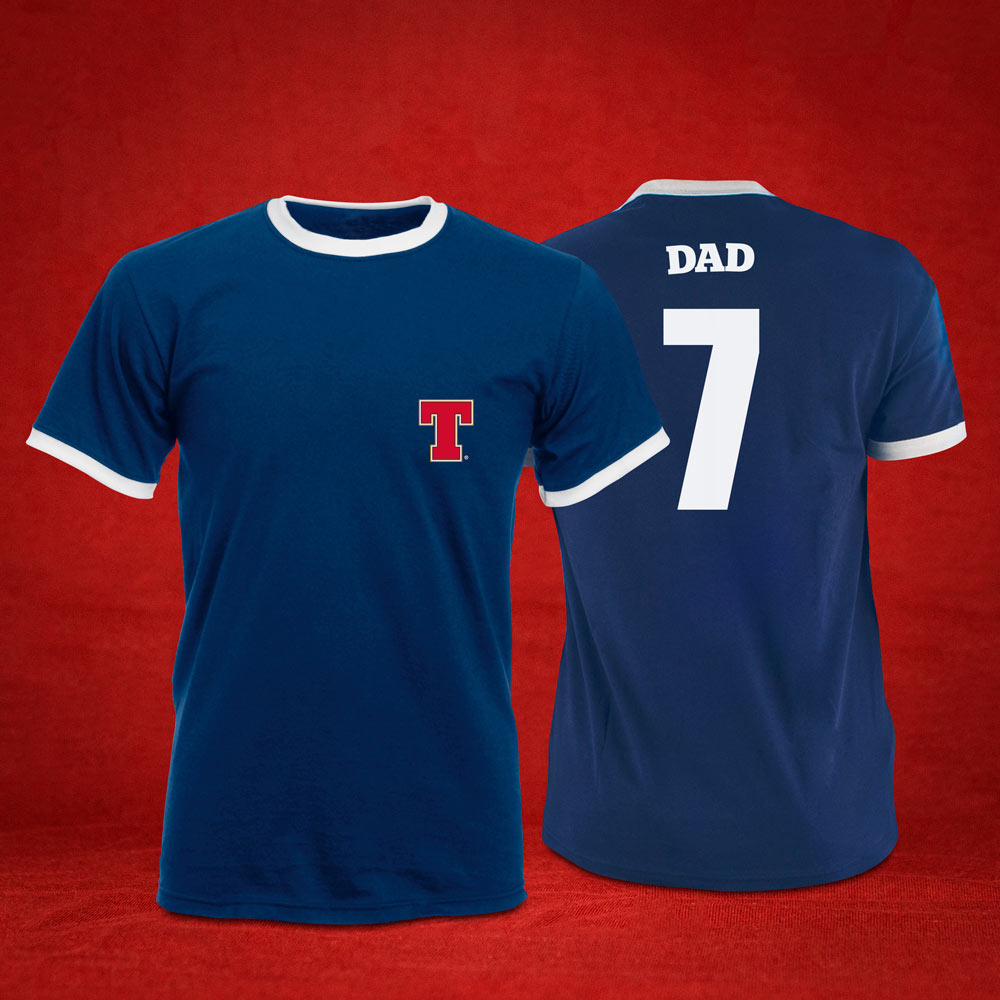 Personalised Retro Style Football T-Shirt