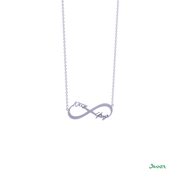 Customize Infinity Necklace