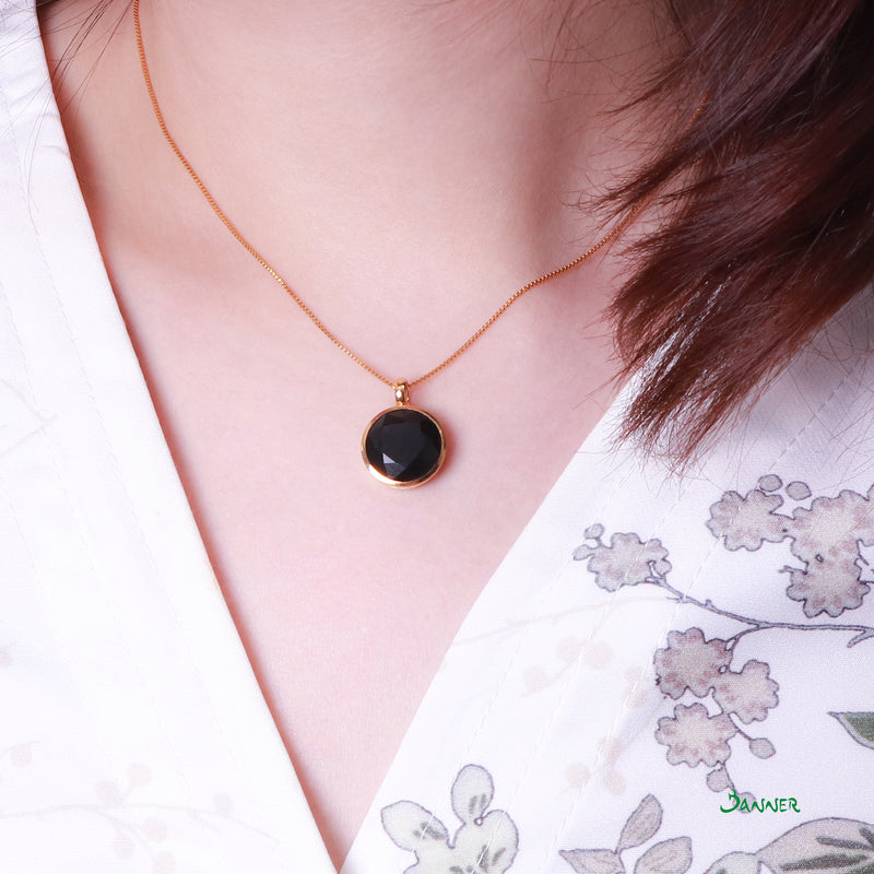 Black Jade Female Pendant