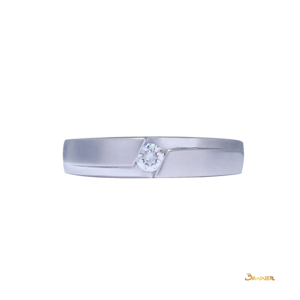 Diamond Male Engagement Ring