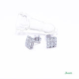 Diamond Invisible Setting Earrings