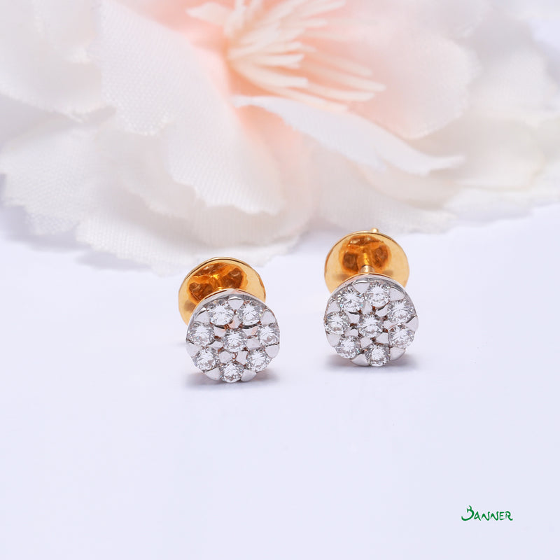 Diamond Chel Earrings
