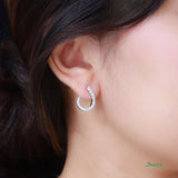 Diamond Love Earrings