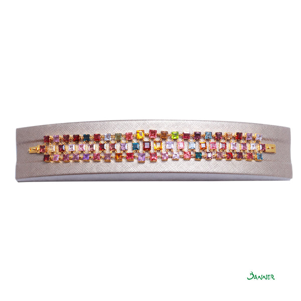 Assorted Color Stones Bracelet
