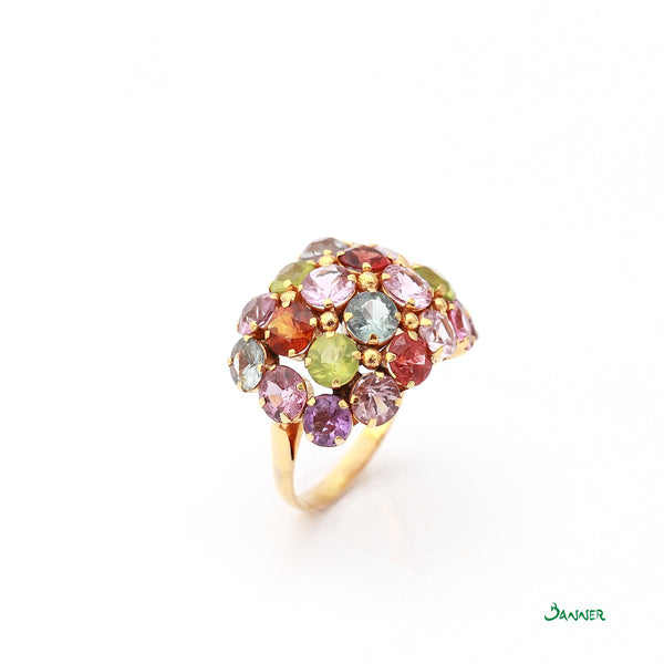 Assorted Gems Statement Ring