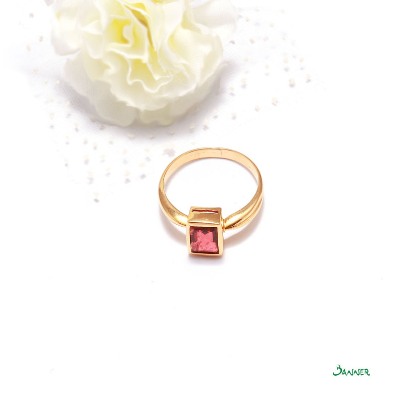 Spinel Emerald -cut Ring