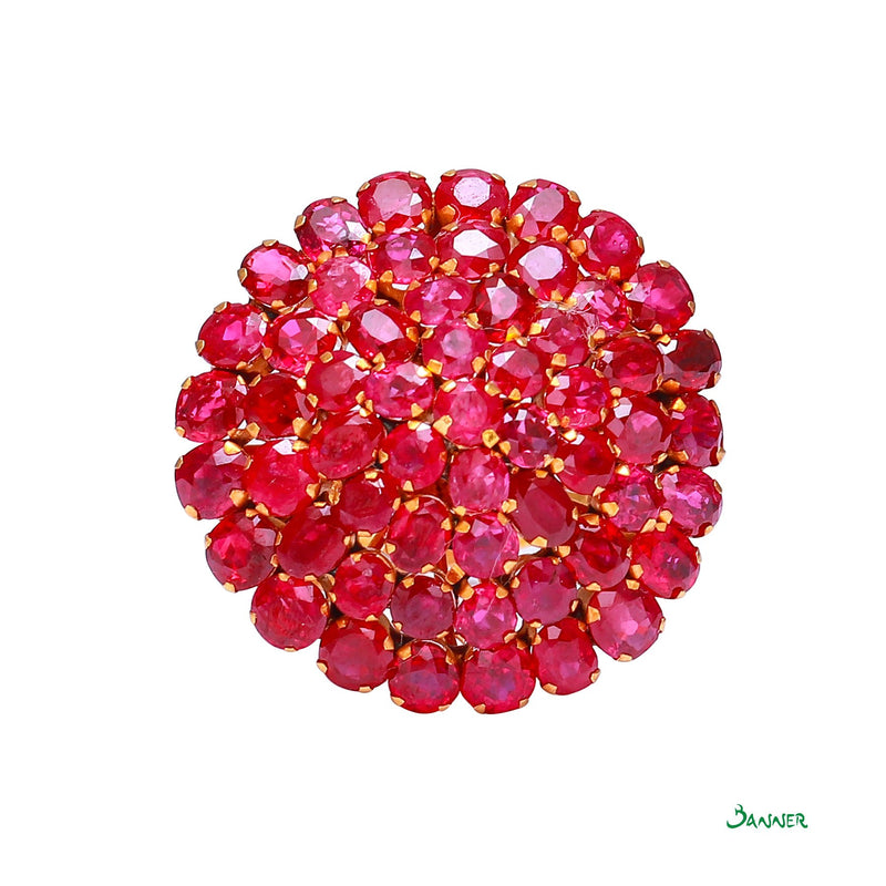 Ruby Kamout Ring Bigger Size