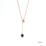 Lapis Lazili and Ruby Necklace