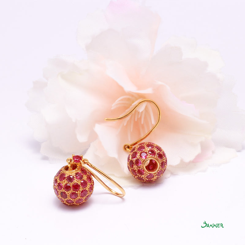 Ruby Baw Lone Earrings