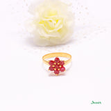 Ruby Chel Ring