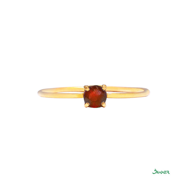 Ruby Solitare Ring