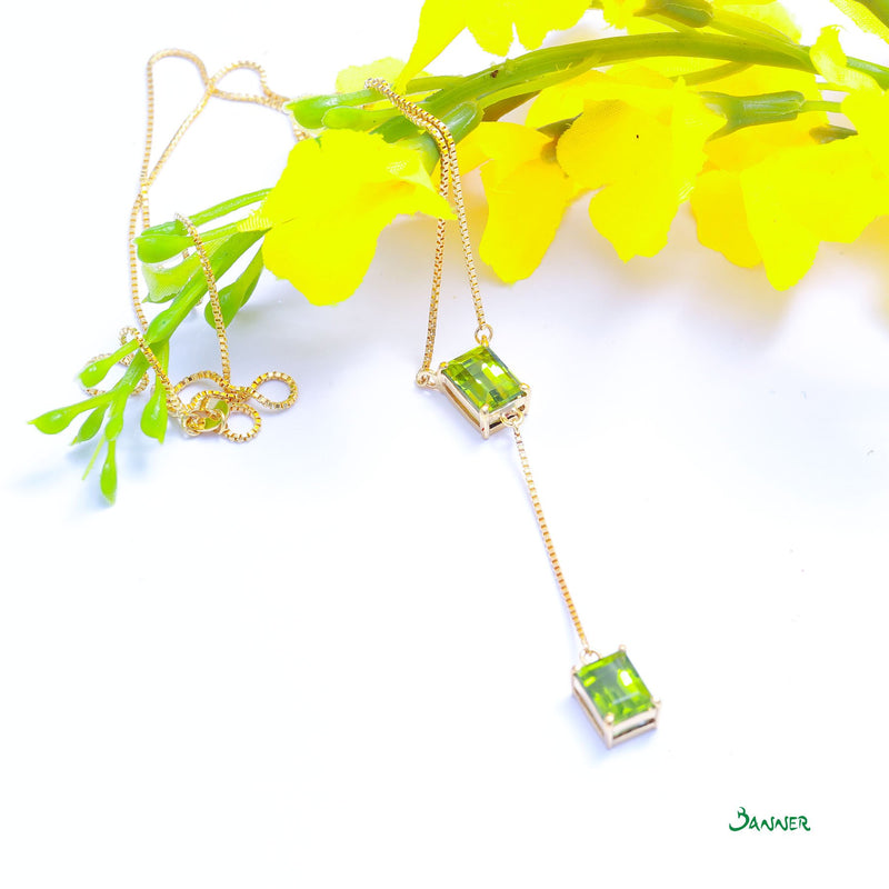 Peridot Hna-Sint Necklace