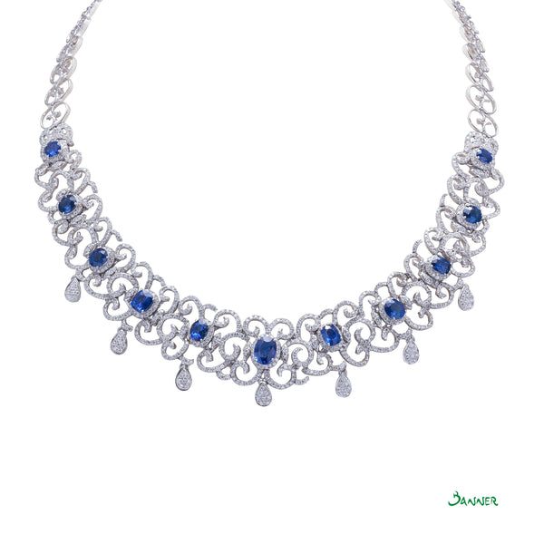 Sapphire Ka-Note Necklace