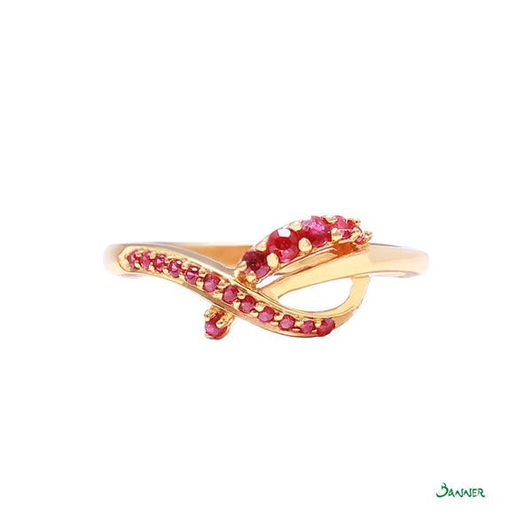 Ruby Infinity Ring