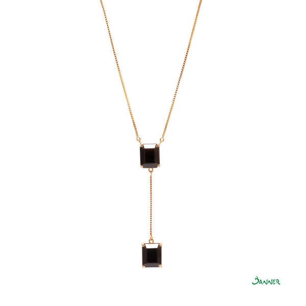 Black Jade Hna-Sint Necklace