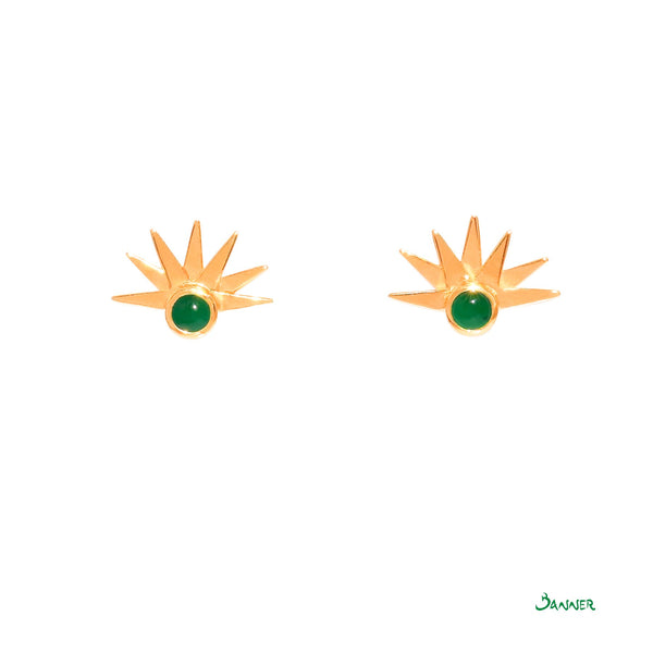 Jade Sunrise Earrings