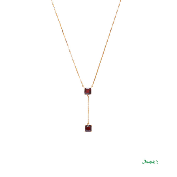 Garnet Hna-Sint Necklace