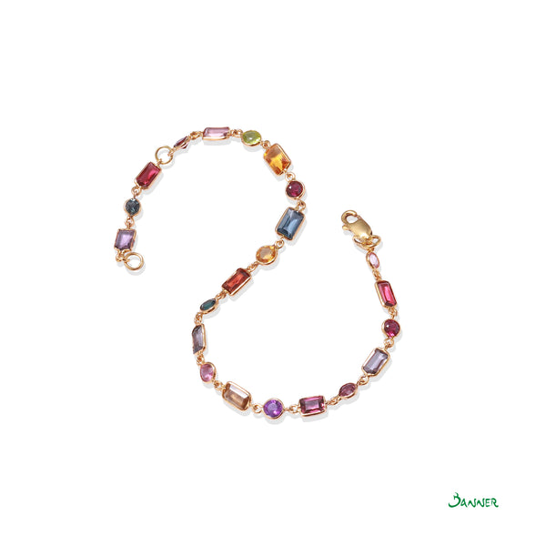 Assorted Gems Bracelet