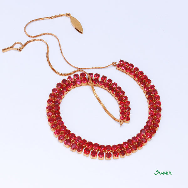 Ruby Hna-Par Necklace