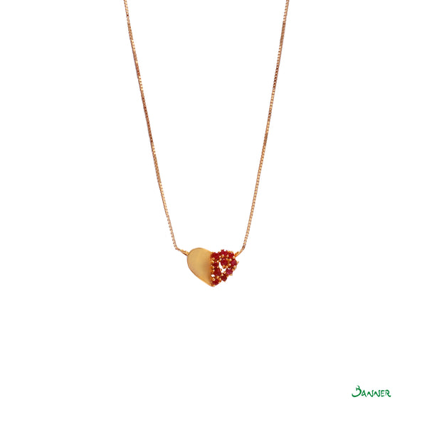 Love Ruby Necklace