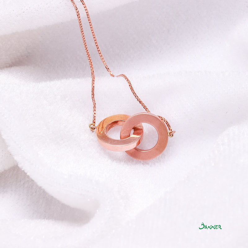 18k Pink Gold O2 Necklace