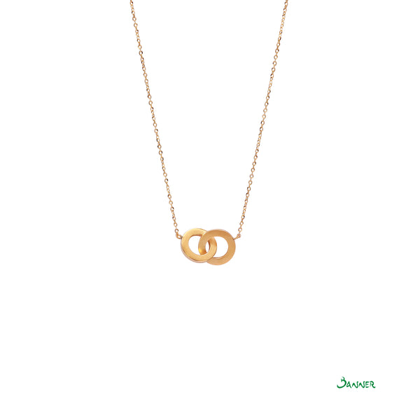 O2 18k Yellow Gold Necklace