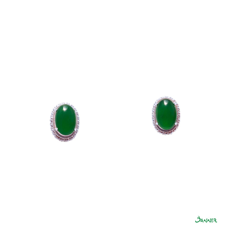 Imperial Jade Earrings