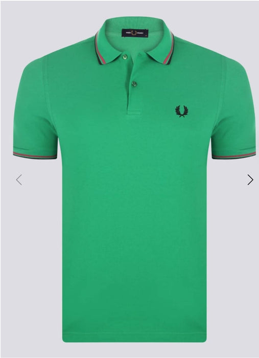 Fred Perry Polo Con Doppia Riga Uomo Regolar Fit Polo Maniche Corte Con Colletto Polo Fred Perry Euforia - Bronte, Commerciovirtuoso.it