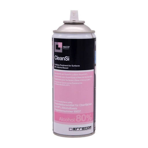 CleanSi Spray Disinfettante superfici a base alcool 80% Errecom HACCP Products Spray Disinfettante Technofluid srl - Milazzo, Commerciovirtuoso.it