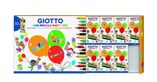 Party set Giotto acquerelli e matite colorate Colori Cartoleria Soluzione - Milazzo, Commerciovirtuoso.it