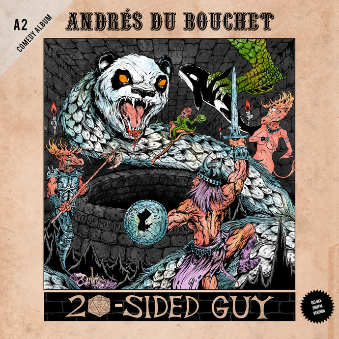 Andrés Du Bouchet - 20-Sided Guy