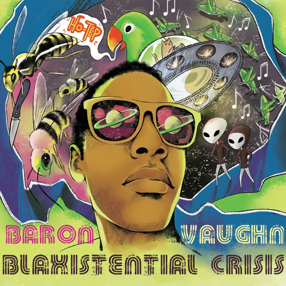 Load image into Gallery viewer, BARON VAUGHN - BLAXISTENTIAL CRISIS - CD