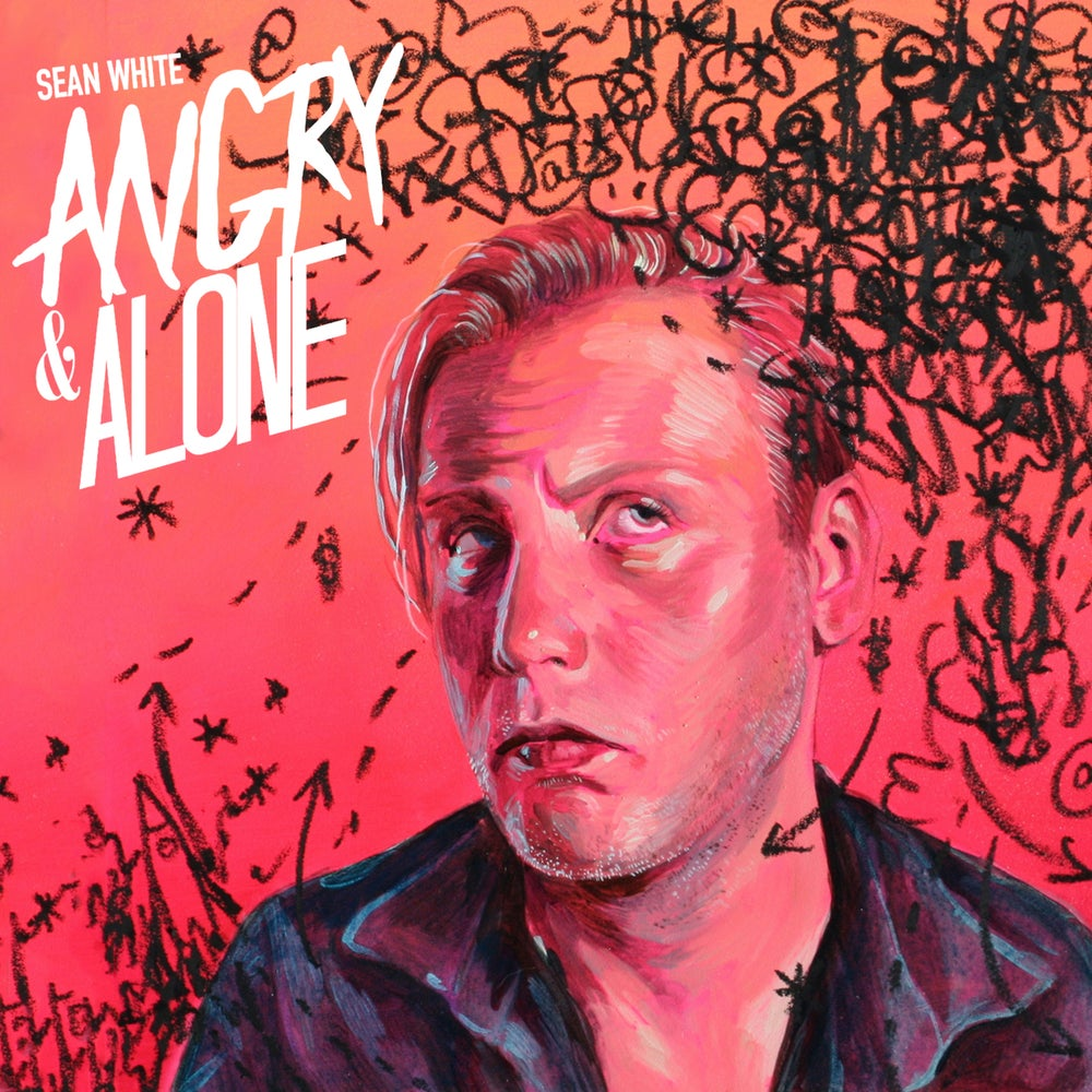 Load image into Gallery viewer, SEAN WHITE - ANGRY & ALONE CD