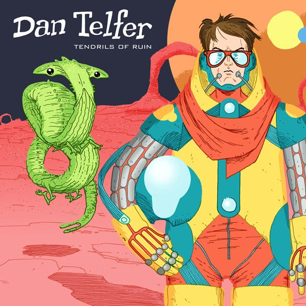 Load image into Gallery viewer, DAN TELFER - TENDRILS OF RUIN - CD